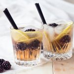 Blackberry Ginger Mocktail | The Worktop