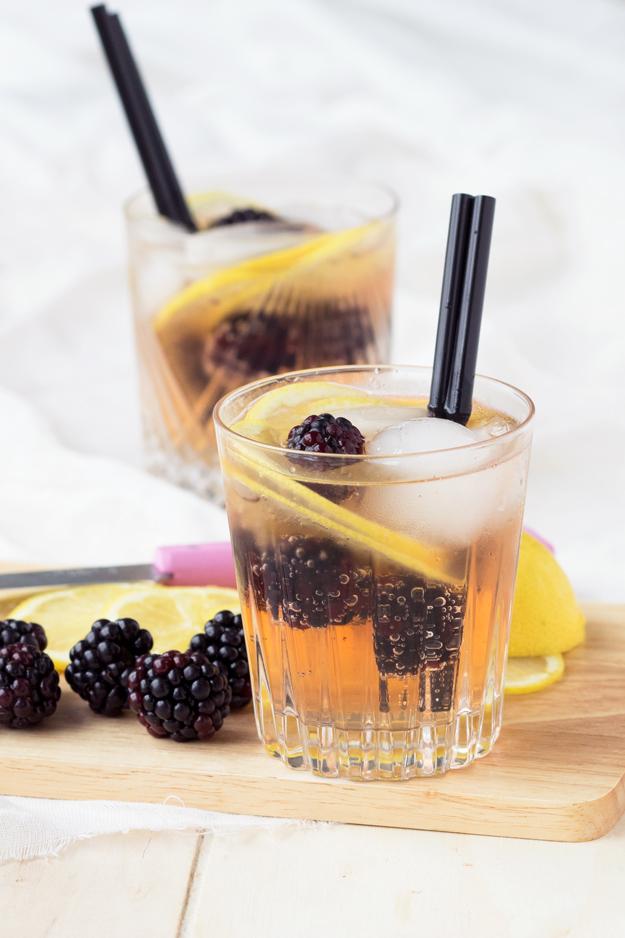 Blackberry Ginger Mocktail