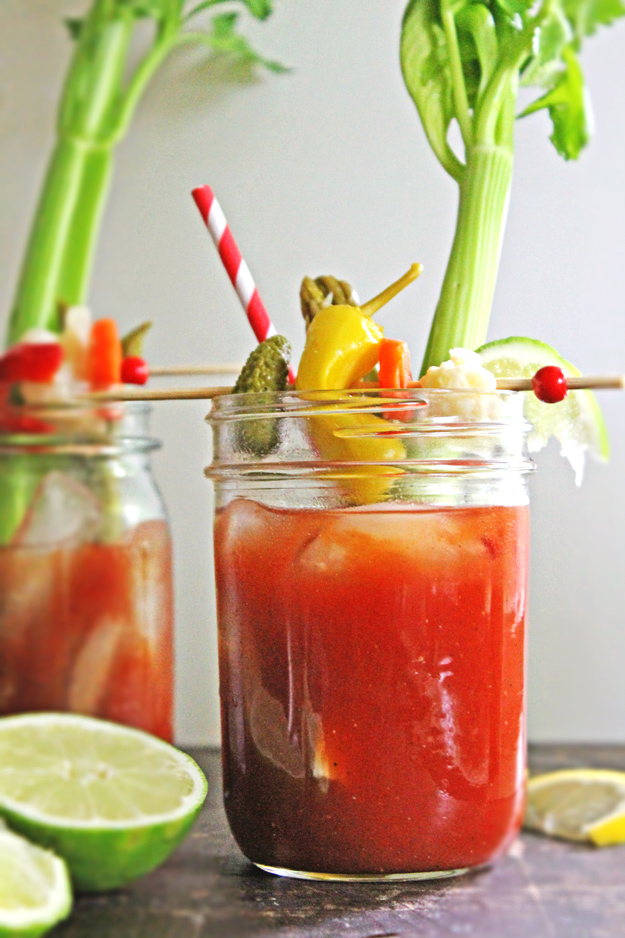 Dill Pickle Bloody Mary by Rhubarbarians