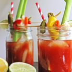 Dill Pickle Bloody Mary | New Years Brunch Ideas