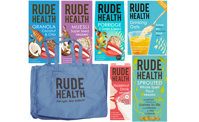 Win a Rude Health Ultimate Breakfast Hamper