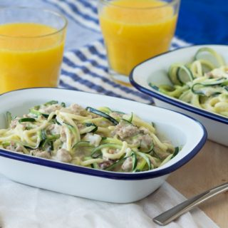 Spiralized Zucchini Breakfast