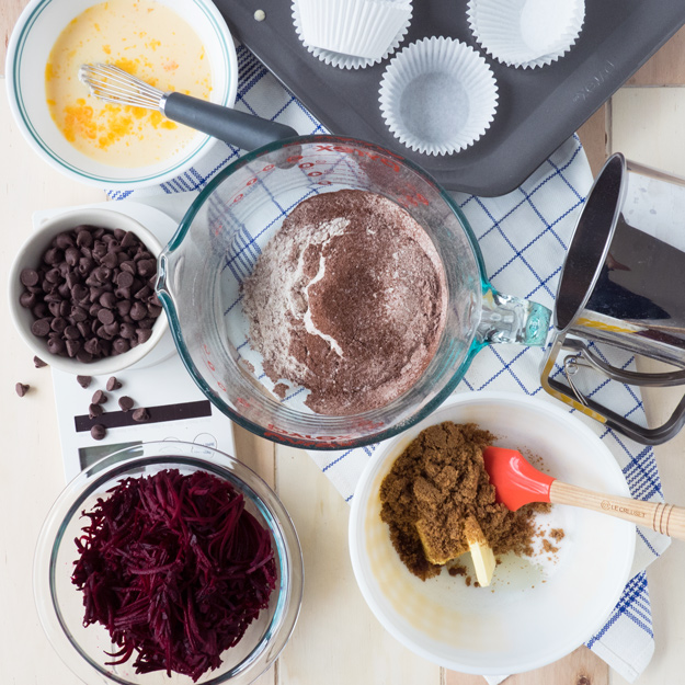 Chocolate Beet Muffins Recipe