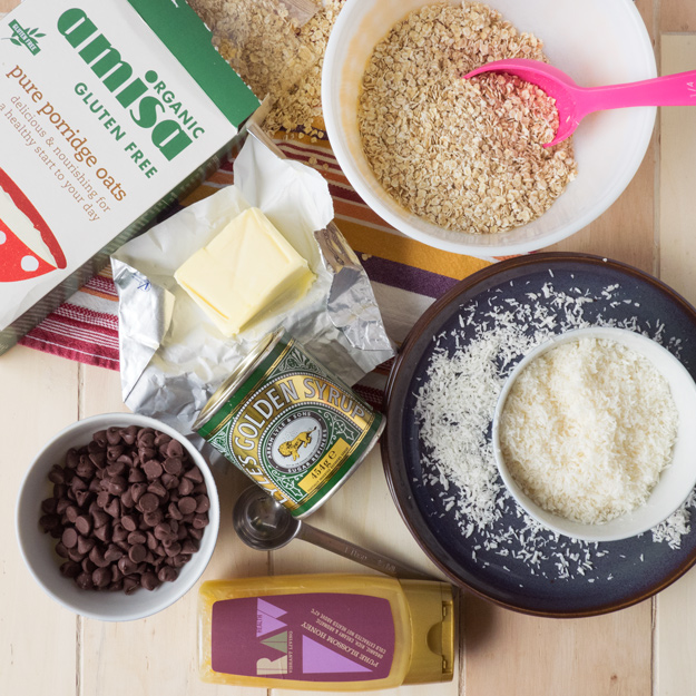 Coconut and Chocolate Flapjacks | The Worktop