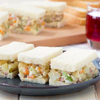Breakfast Potato Salad with Ham | The Worktop #breakfast #brunch