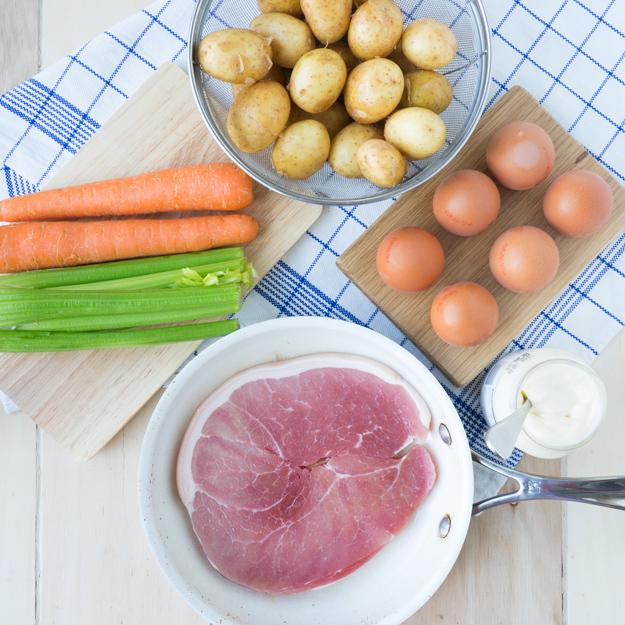 Breakfast Potato Salad Sandwich | The Worktop