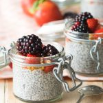 Overnight Chia Seed Pudding with Almond Milk