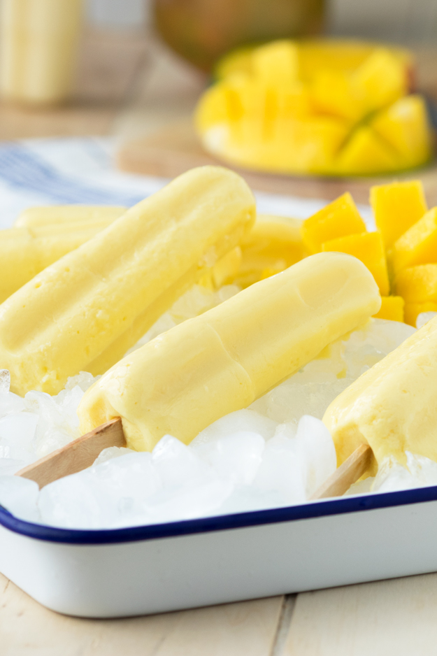 Mango and Yogurt Popsicles (GF)