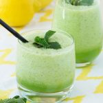 Mint Honeydew Smoothie for a refreshing summer drink! | The Worktop #smoothie #breakfast