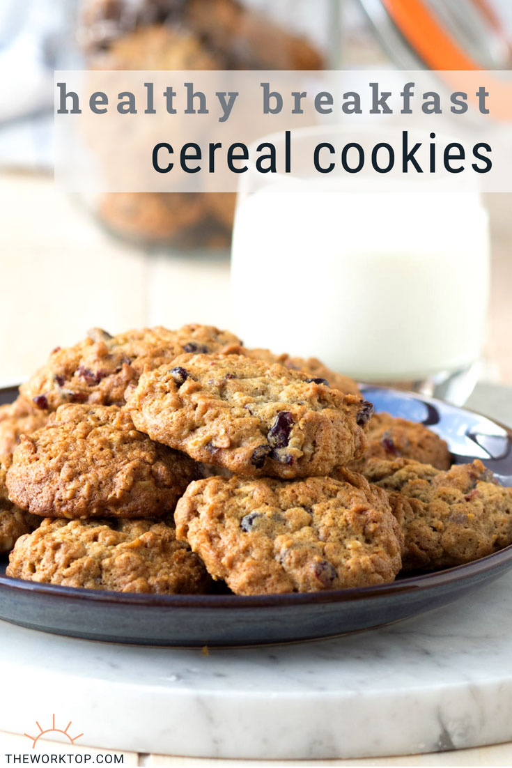 Breakfast Cereal Cookie Recipe | Healthy Weekday Breakfast | The Worktop