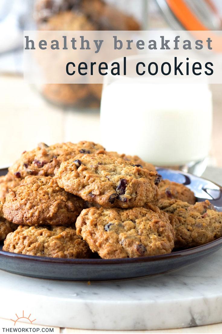Breakfast Cereal Cookie Recipe | Healthy Weekday Breakfast | The Worktop