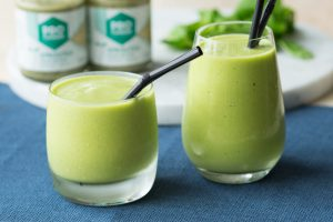 Make this easy and healthy Green Smoothie with Hemp Butter | The Worktop