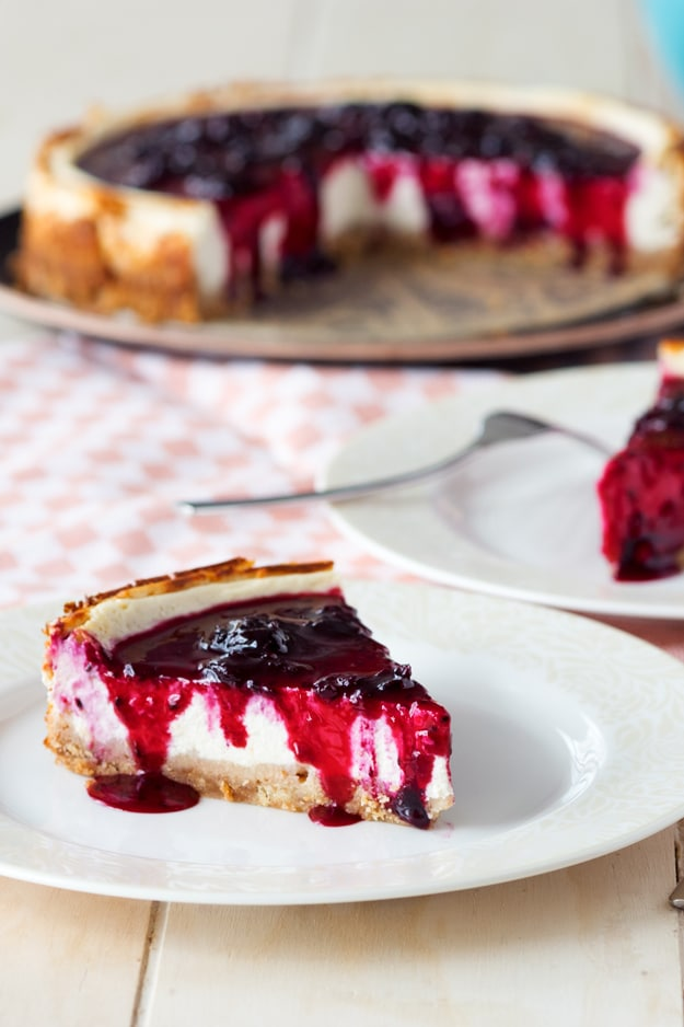 Healthy Cheesecake Recipe with Cottage Cheese | The Worktop #cheesecake #healthy