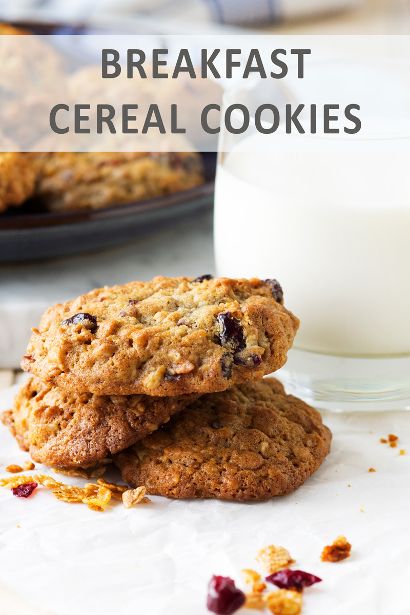 Breakfast Cereal Cookies for a grab 'n go treat | The Worktop