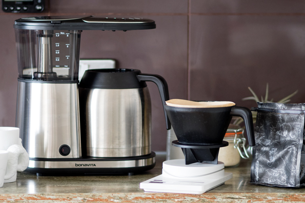 Bonavita Coffee Maker. 8cup Bonavita. . The Bonavita Comes With A Separate Pour Lid That Needs ...