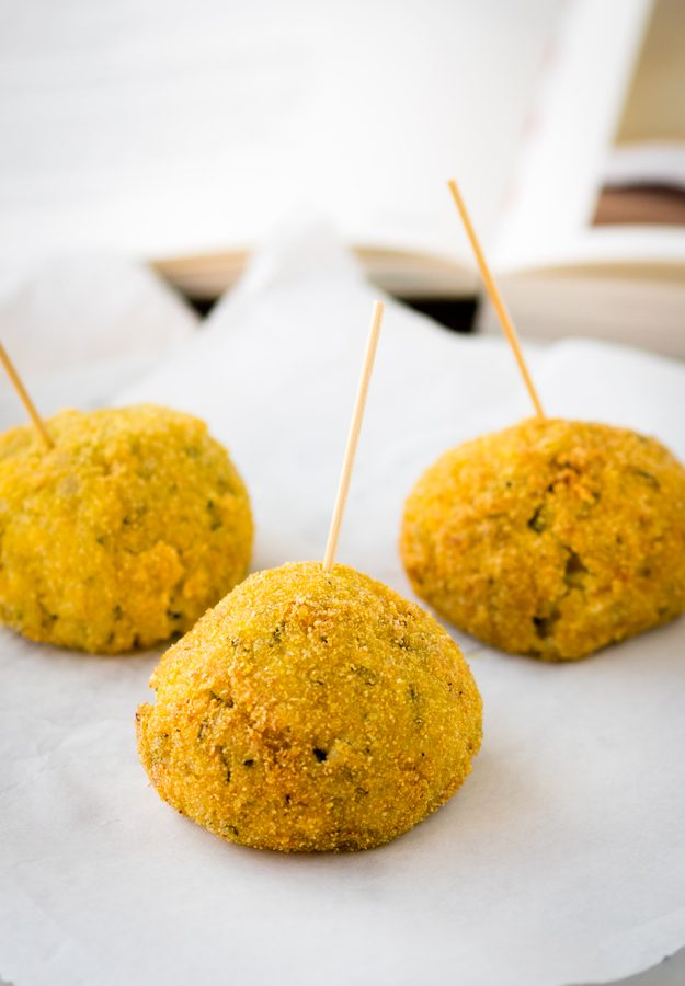 Courgette and Pancetta Arancini - recipe adapted from London's Polpo restaurant | The Worktop