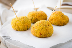 Courgette and Pancetta Arancini