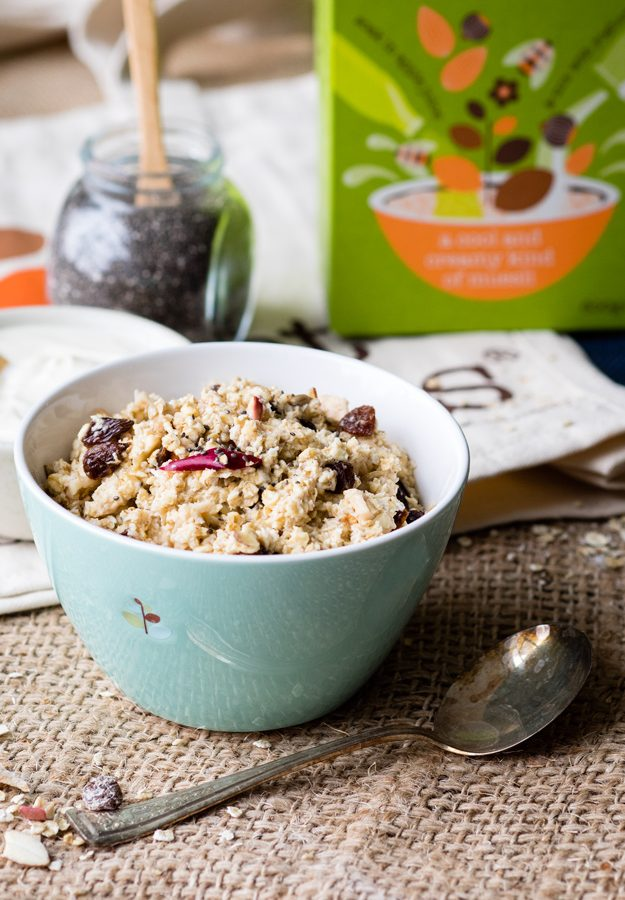 Bircher Muesli Ideas (Vegan) + Dorset Cereals Review