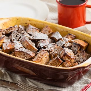 Baked Gingerbread French Toast - warming and comforting | The Worktop