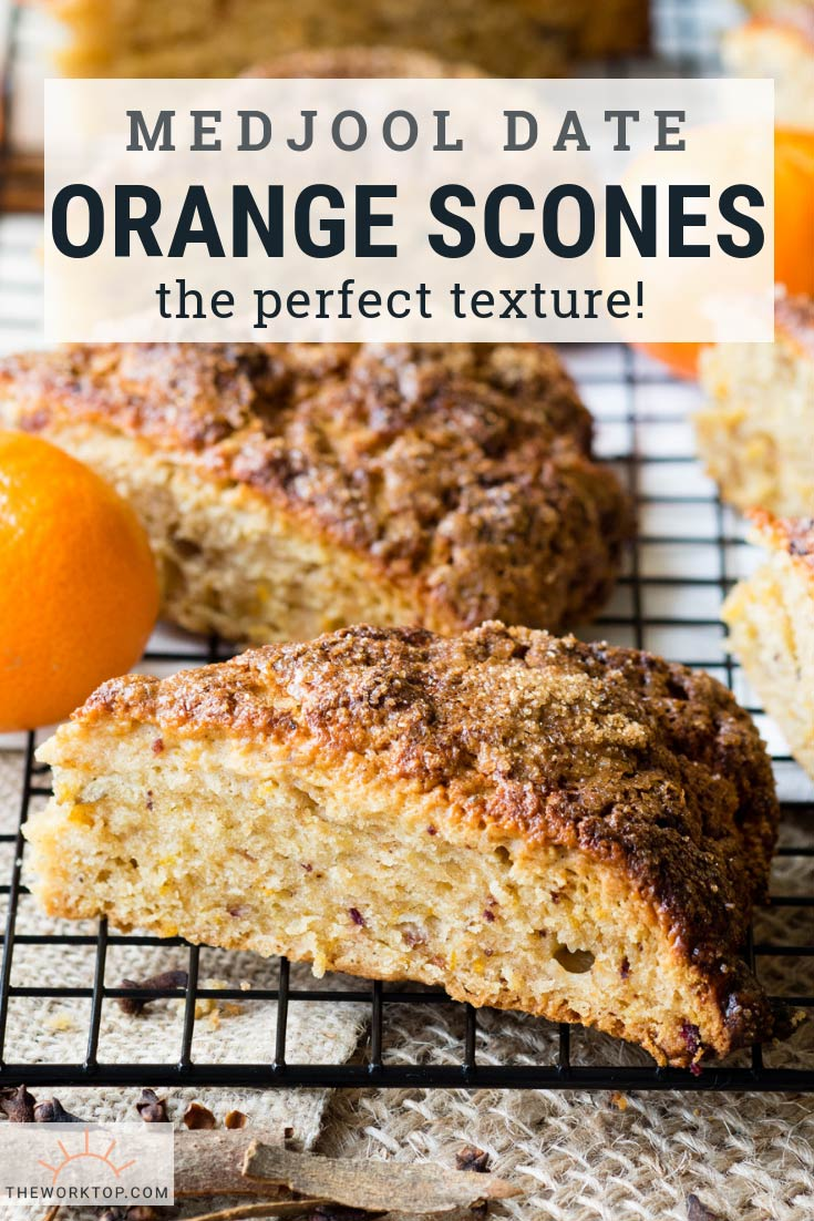 Date and Orange Scones | The Worktop