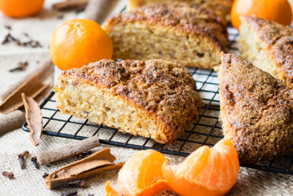 Medjool Date and Orange Scones - perfect for breakfast! | The Worktop