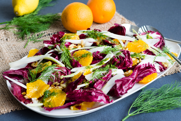 Orange and Fennel Salad | Healthy Winter Salad Idea | The Worktop