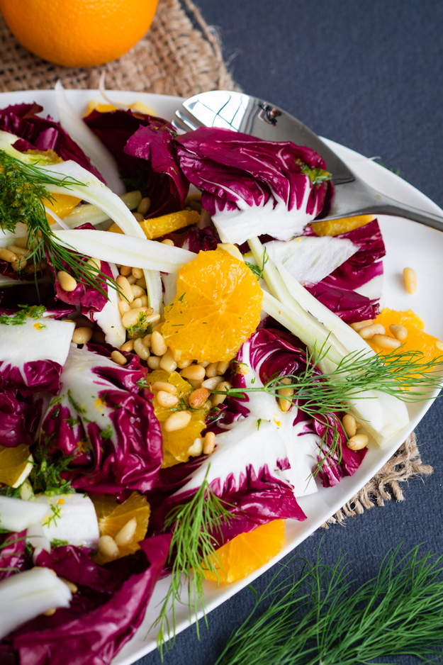 Orange and Fennel Salad (Vegan, GF)