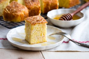 Savory Cornbread with Turkey and Cheese | The Worktop