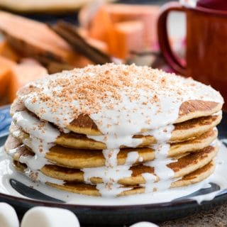 Sweet Potato Pancakes | Thanksgiving Breakfast Recipes