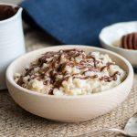 Eggnog Rice Pudding Recipe | The Worktop