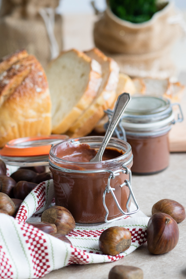Chestnut Chocolate Spread - perfect for topping on toast | The Worktop