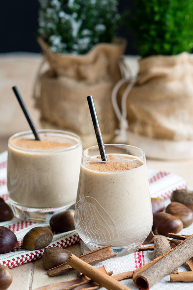 Four Ingredient Chestnut Smoothie Recipe | The Worktop