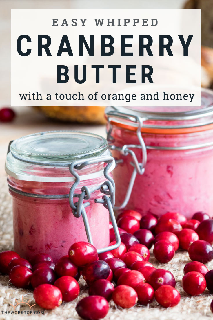 Whipped Cranberry Butter - Leftover Cranberries | The Worktop