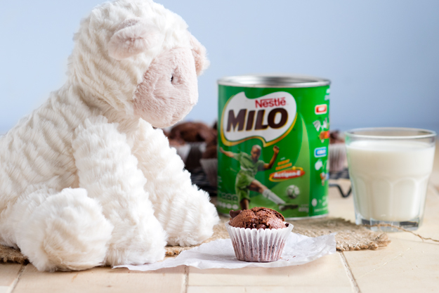 Milo Muffins - double chocolate muffins | The Worktop