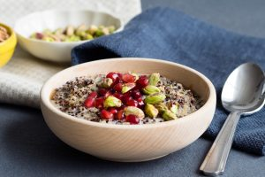 Peruvian Porridge with Quinoa and Amaranth