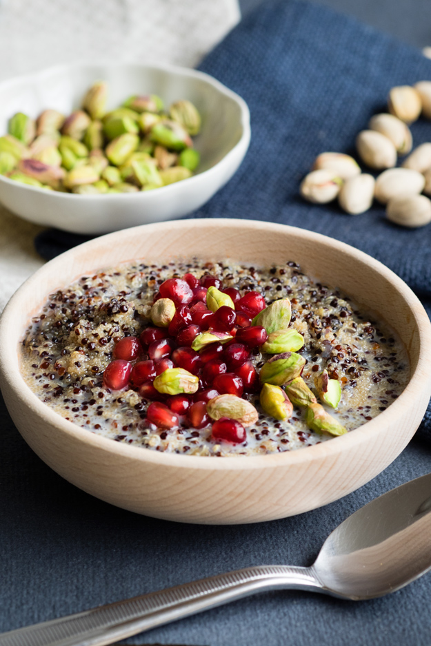 Peruvian Quinoa Porridge with Amaranth | The Worktop