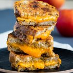 Raisin Bread Grilled Cheese - sweet and savory | The Worktop