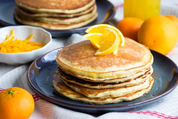 Ricotta and Orange Pancakes | The Worktop