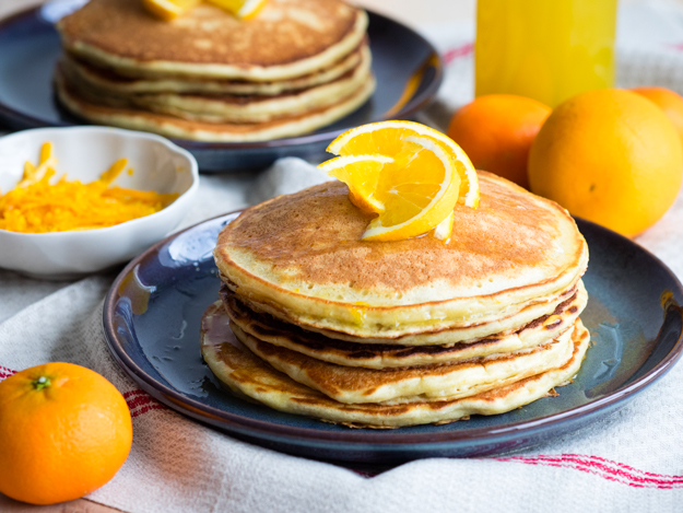 Orange and Ricotta Pancakes | The Worktop