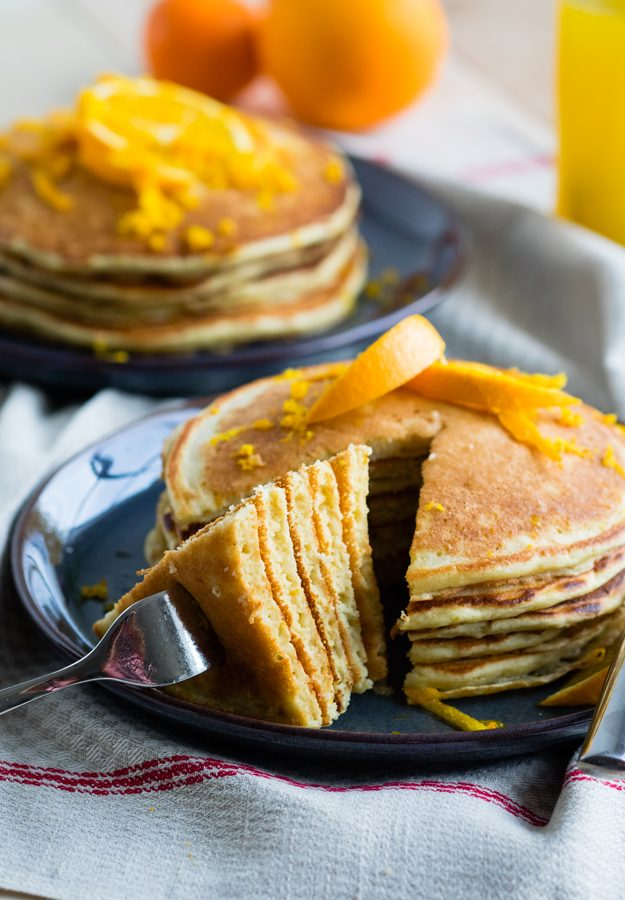 Ricotta and Orange Pancakes | The Worktop
