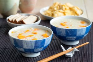 Millet Porridge with Sweet Potatoes
