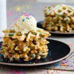 Funfetti Waffles   The Worktop