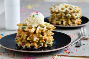 Funfetti Waffles | The Worktop