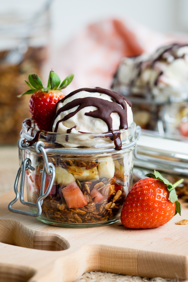 Sweetheart Ice Cream Breakfast Parfait | The Worktop