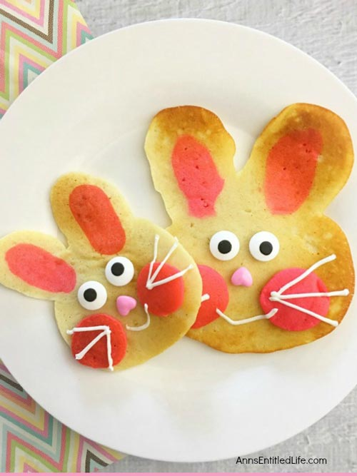 Bunny Pancakes for Easter Brunch