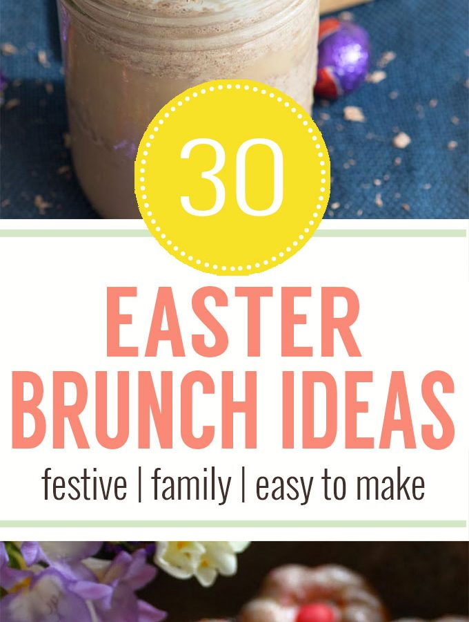 30+ Recipes for Easter Brunch