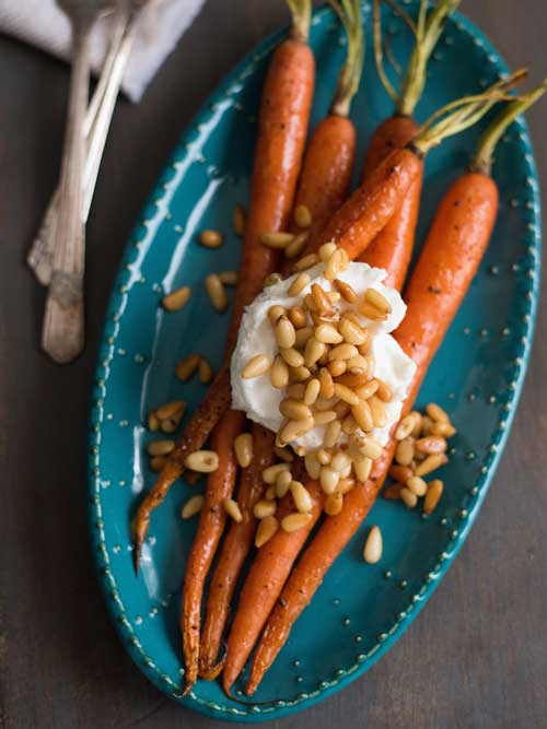Roasted Glazed Carrots | Perfect Easter Brunch Ideas