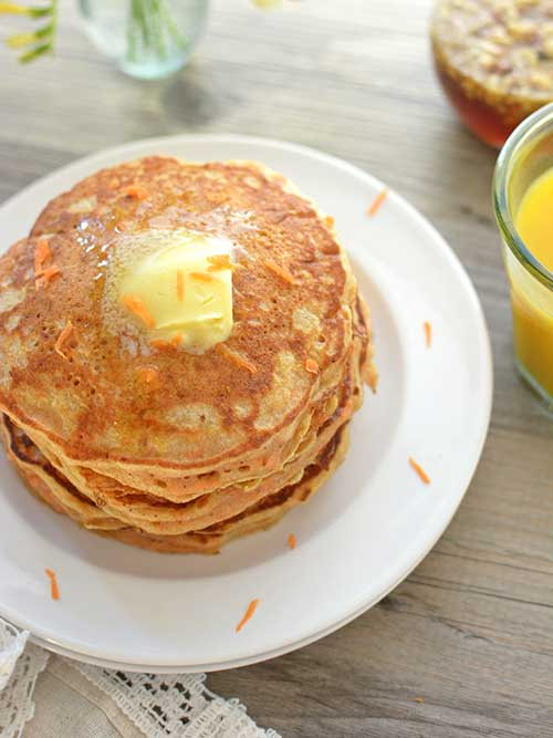 Carrot Cake Pancakes | Easter Brunch Ideas for the Family