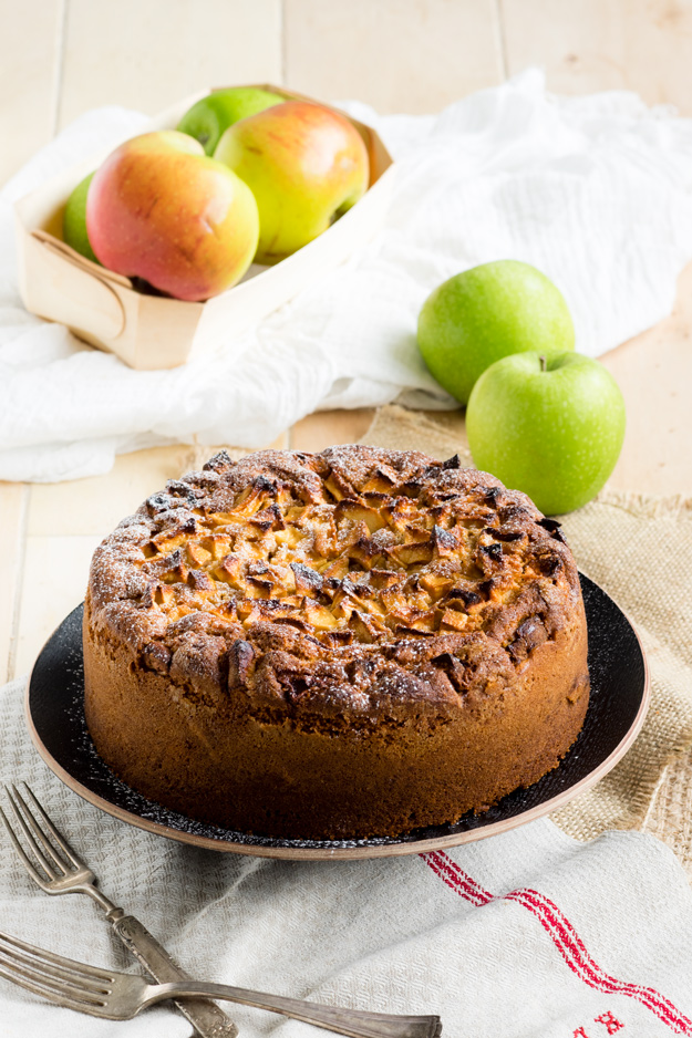 Dorset Apple Cake - an easy apple cake recipe | The Worktop