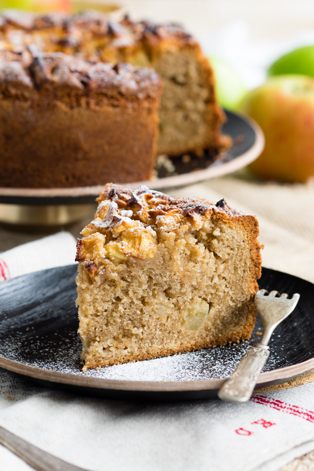 Easy Apple Cake Recipe (Dorset Apple Cake) | The Worktop